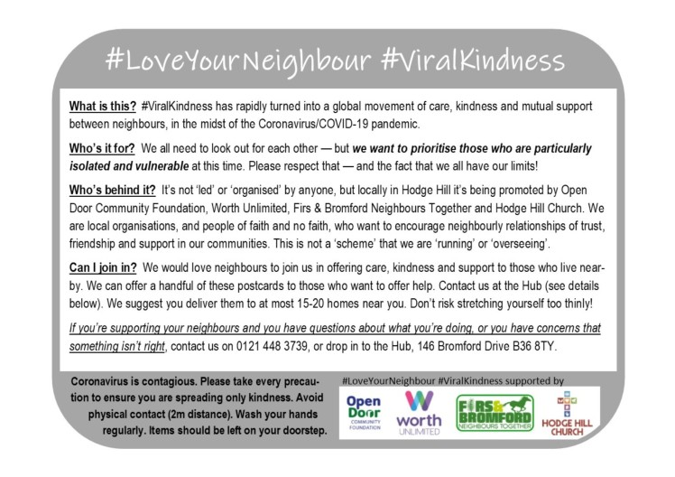 #ViralKindness flyer v2 p2 - SAMPLE